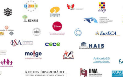 """FAFCE co-signed the Manifesto """"Europe must not forget independent education and educational pluralism"""""""