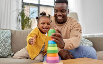 Father-child playtime may improve children's ability to control emotions, aggression later in life